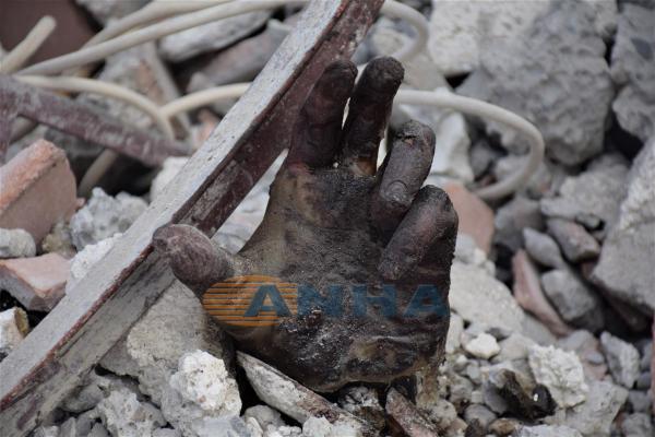 صور جديدة للمجزرة التي ارتكبتها طائرات جيش الاحتلال التركي بحق المدنيين في مشرافة