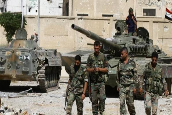 قوات النظام تتقدم في ريف إدلب بدعم جوي روسي