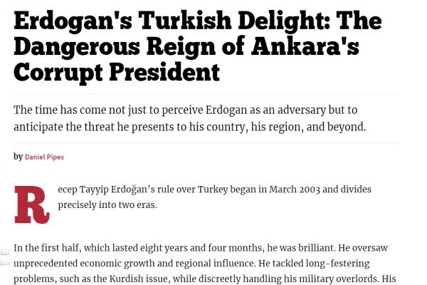 مجلة أمريكية: أردوغان أصبح خطراً على تركيا والجوار والعالم
