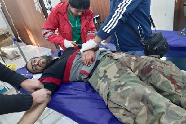 جيش الاحتلال ومرتزقته يهاجمون قرية تل ورد وإصابة عنصر من قوات النظام