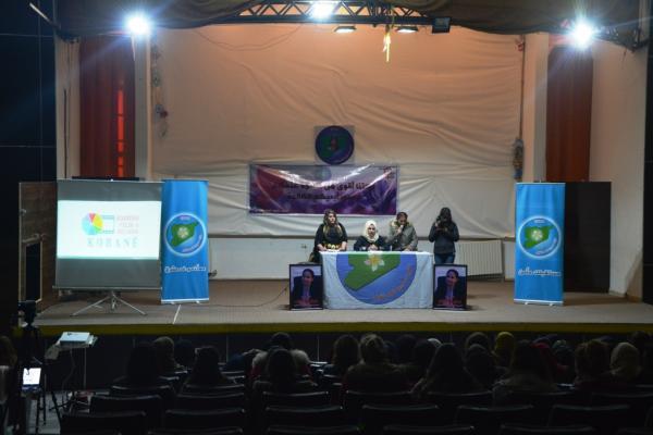 الفعاليات المناهضة للعنف ضد المرأة مستمرة في كوباني