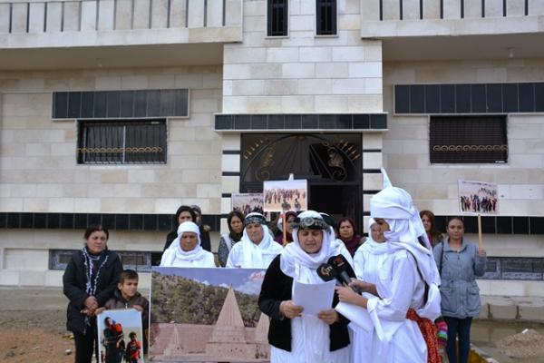 إيزيديات: الاحتلال التركي يستهدف المرأة الحرّة والمناضلة بشكل مباشر