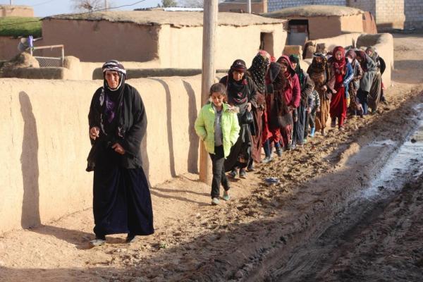 ANHA ترصد أوضاع قرية أم الكيف