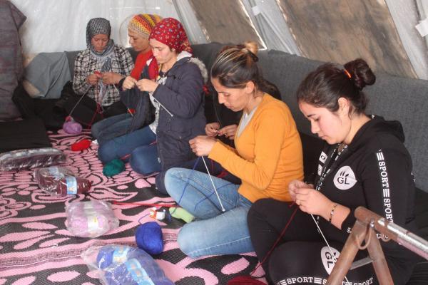 مجلس المرأة في مقاطعة عفرين تفتتح ثاني ورشة للأعمال اليدوية
