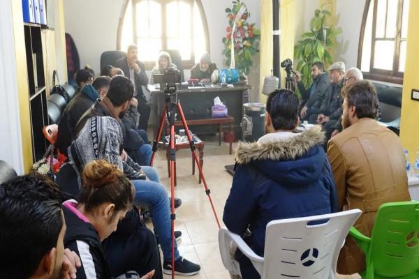 اتحاد مثقفي الرقة يكرم صاحب أول مكتبة في الرقة