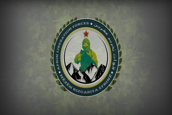 قوات تحرير عفرين تعلن القضاء على 4 من مرتزقة تركيا