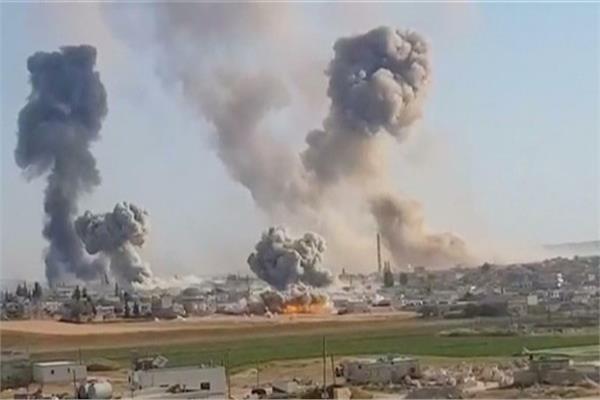 غارات واشتباكات عنيفة في حلب وإدلب والنظام يتقدم