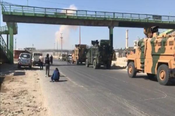 قوات النظام تستهدف رتلاً تركياً بالقذائف الصاروخية في ريف حلب