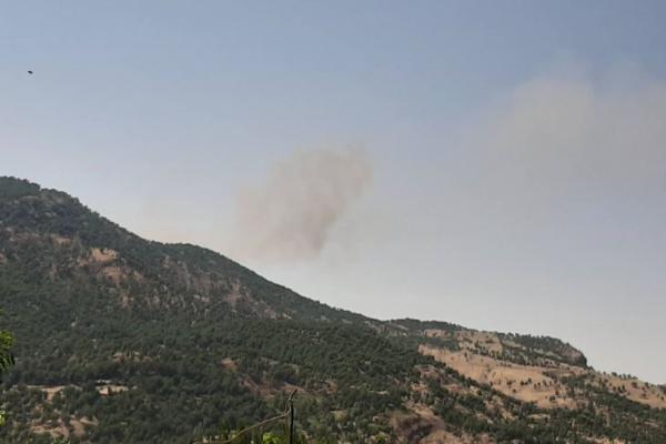 طائرات الاحتلال التركي تقصف مناطق  الدفاع المشروع
