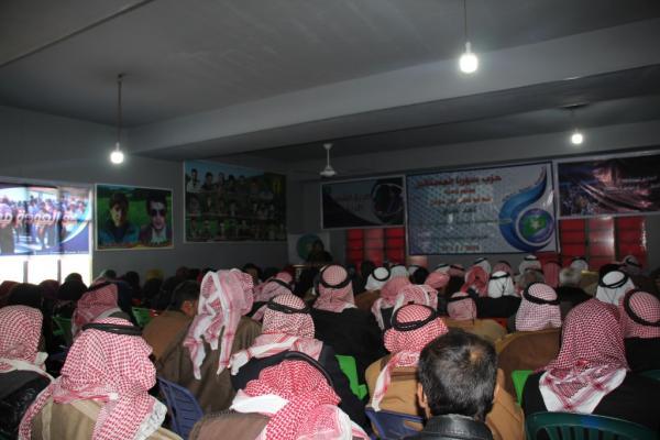 حزب سوريا المستقبل يعقد مؤتمراً ينتخب فيه مجلس لنواحي منبج