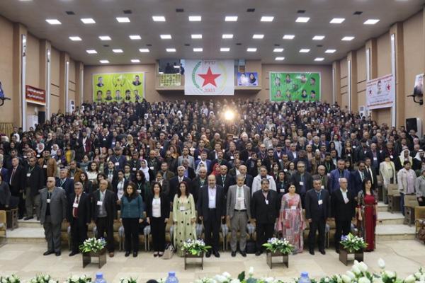 بحضور 600 مندوباً انطلاق أعمال المؤتمر الثامن لـ PYD