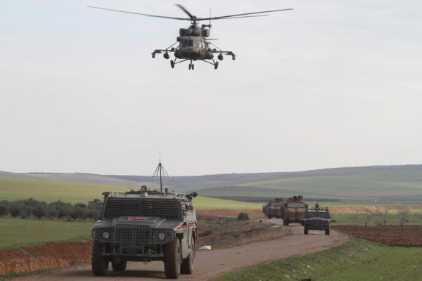 تسيير دورية مشتركة تركية-روسية غربي كوباني