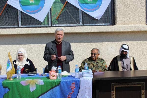 حزب سوريا المستقبل يعقد أول اجتماع في مركدة