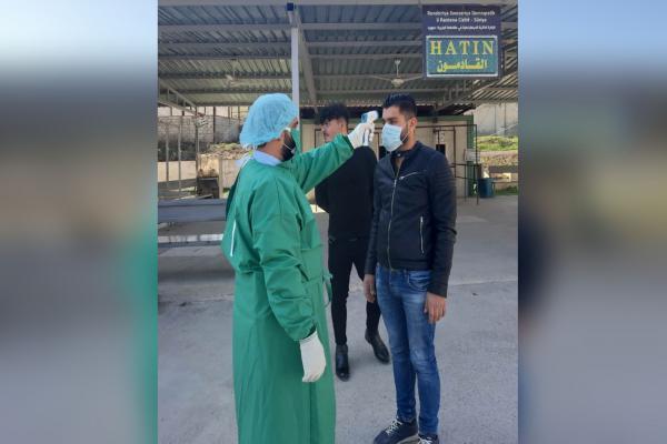 معابر شمال وشرق سوريا تتخذ جملة إجراءات للوقاية من فيروس كورونا