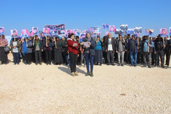 أهالي ناحية شيراوا ينددون بانتهاكات الاحتلال التركي بحق المدنيين