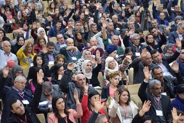 إقرار زيادة عدد أعضاء المجلس العام لحزب الاتحاد الديمقراطي إلى 90 عضواً