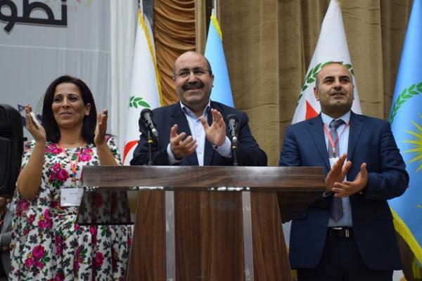 انتخاب أنور مسلم وعائشة حسو كرئاسة مشتركة لحزب الاتحاد الديمقراطي