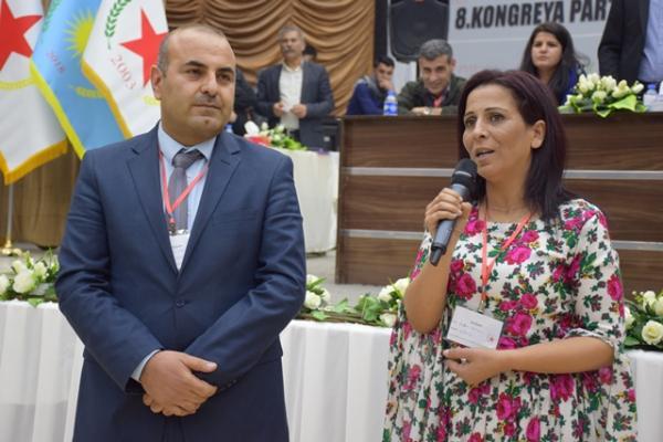 من هما أنور مسلم وعائشة حسو الرئاسة المشتركة لـ PYD؟