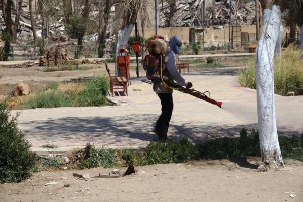 إجراءات احترازية في الريف الشرقي لدير الزور منعاً لظهور كورونا