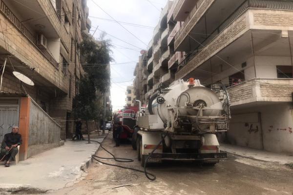 نشوب حريق في منزل بمدينة قامشلو –تم التحديث