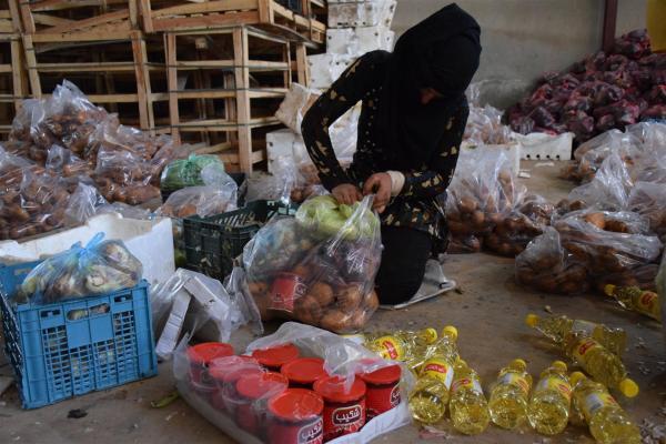 مبادرة خيرية من تجار الحسكة لمساعدة المُهجّرين في مراكز الإيواء