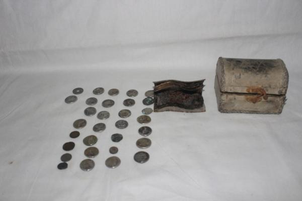 قوى الأمن الداخلي تلقي القبض على تاجر للقطع الأثرية بتربه سبيه