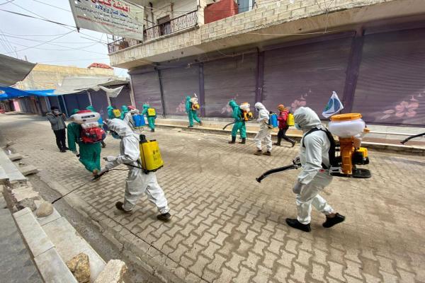 سمير فردون: مستمرون في تعقيم المدن حتى انتهاء الحجر الصحي