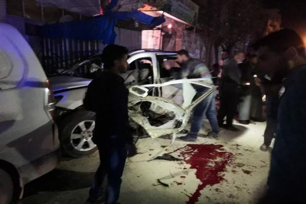 تفجير يستهدف سيارة أحد مرتزقة السلطان مراد في مدينة الباب