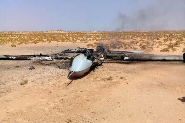 الجيش الوطني الليبي يسقط طائرتين مُسيّرتين تركيتين