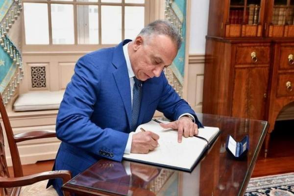 الرئيس العراقي يكلف مصطفى الكاظمي بتشكيل الحكومة