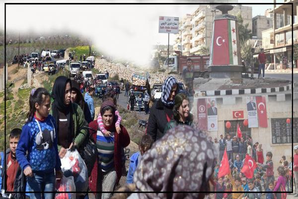 أساليب تركية متعددة والهدف واحد: تغيير ديموغرافية المناطق المحتلة من سوريا