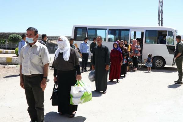 معبر سيمالكا يستقبل العائدين من باشور كردستان
