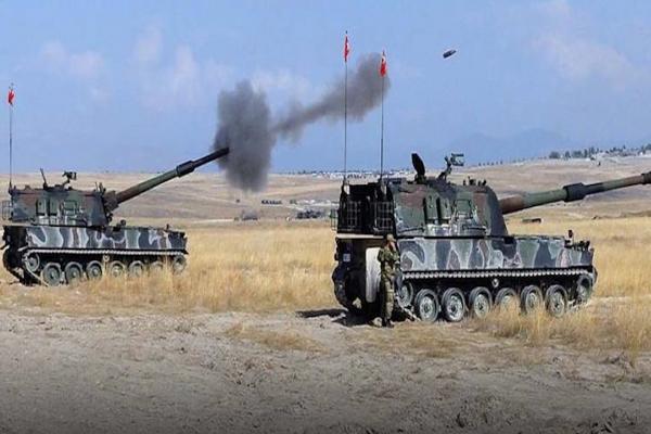 الاحتلال التركي يقصف مواقع للقوات الحكومية في ريف حلب