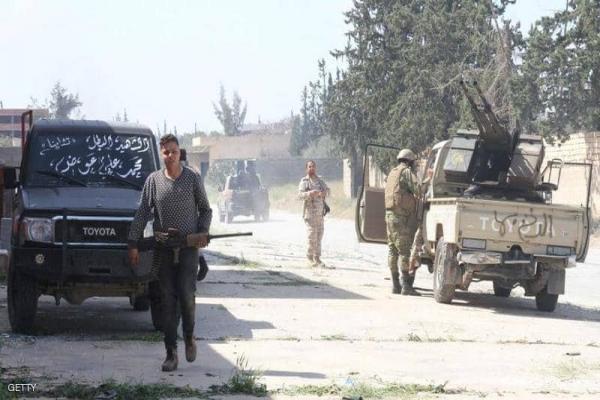 الجيش الليبي يعلن مقتل عدد من مرتزقة تركيا وقادتهم