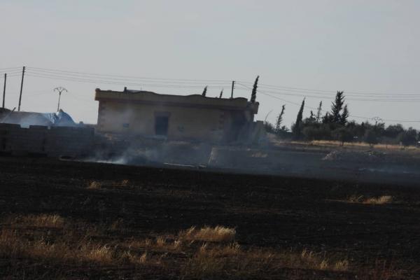 بالفيديو... الأضرار التي خلفها القصف التركي لقرى عين عيسى