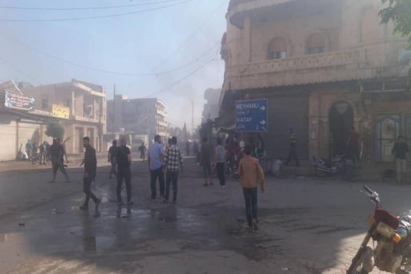 انفجار ضخم يهزّ ناحية جندريسه في عفرين