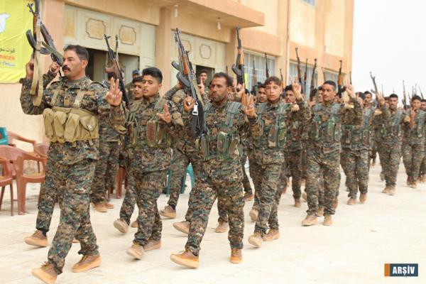 حملة لـ قسد ضد خلايا مرتزقة داعش في ريفي الحسكة و دير الزور