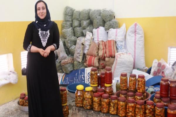 بيت المونة في دير الزّور... خطوة لتعزيز اقتصاد المرأة