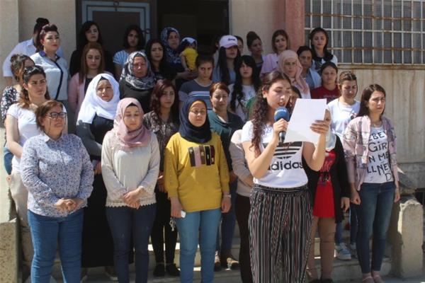 الإدارة العامة لمدارس الحسكة تدين جرائم تركيا بحق النساء في عفرين المحتلة