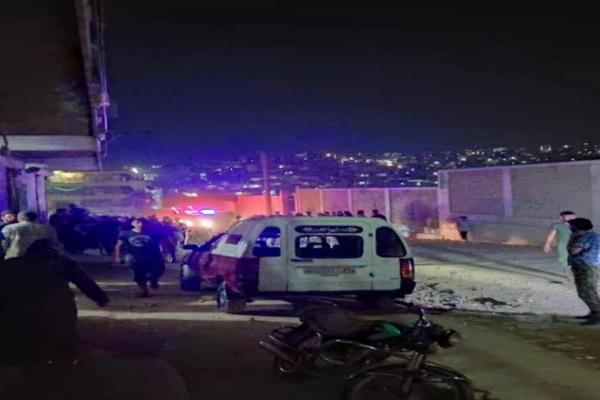 انفجار في عفرين وأنباء عن وقوع إصابتين