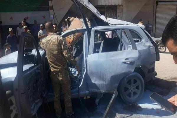 مقتل شخص واصابة أخر أثر انفجار في عفرين