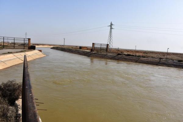 مؤسّسة مياه دير الزّور تبذل الجهود لتأمين مياه الشّرب والرّي للمنطقة