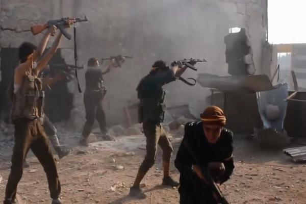 اشتباكاتٌ عنيفةٌ بينَ القوّات الحكوميّة ومرتزقة تركيّا في إدلب