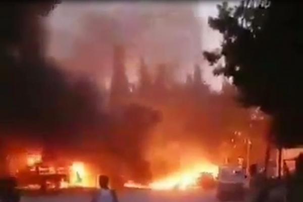 انفجار قوي في مدينة كري سبي المحتلة