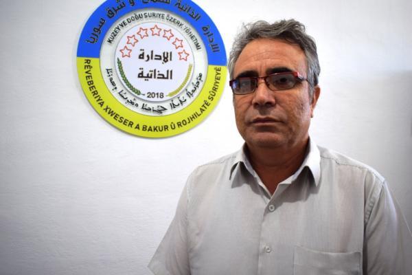 أحمي: بعد رفعها الرّواتب وأسعار شراء القمح بدأت حملة مركّبة داخليّاً وخارجيّاً ضدّ الإدارة الذّاتيّة
