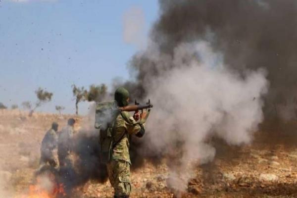 ريف حماة يشهد اشتباكات بين القوات الحكومية ومرتزقة تركيا