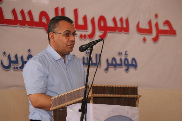 إبراهيم قفطان: يجب وضع الحل بيد السوريين بدون تدخل خارجي