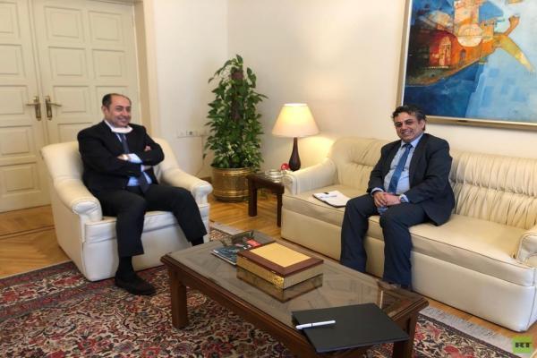 الجامعة العربية تستقبل ممثل
