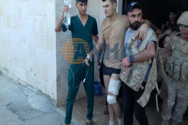 طائرة مسيرة تعاود قصف الدّرباسيّة وإصابة اثنين من القوّات الرّوسيّة وعنصر للحكومة السورية