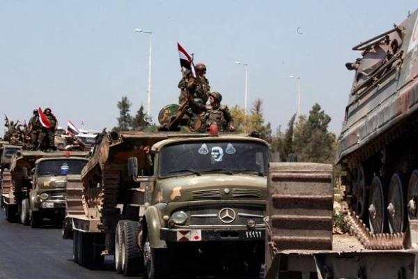 الحكومة السورية تدفع بتعزيزات عسكرية إلى جبهات ريف إدلب الجنوبي